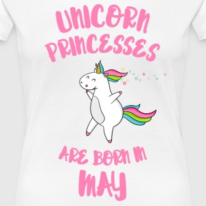 May Unicorn Princesses T-Shirts - Frauen Premium T-Shirt