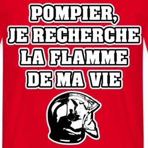 POMPIER, JE RECHERCHE LA FLAMME DE MA VIE