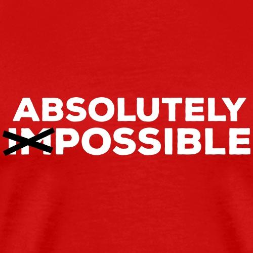 absolutely possible möglich Ausweg Lösung Optimist