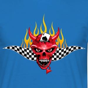 Poker Devil Flaming Design