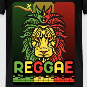 festivals2017 lion reggae music tribal  Tee shirts - T-shirt Premium Enfant