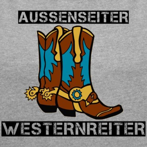Außenseiter Westernreiter -black