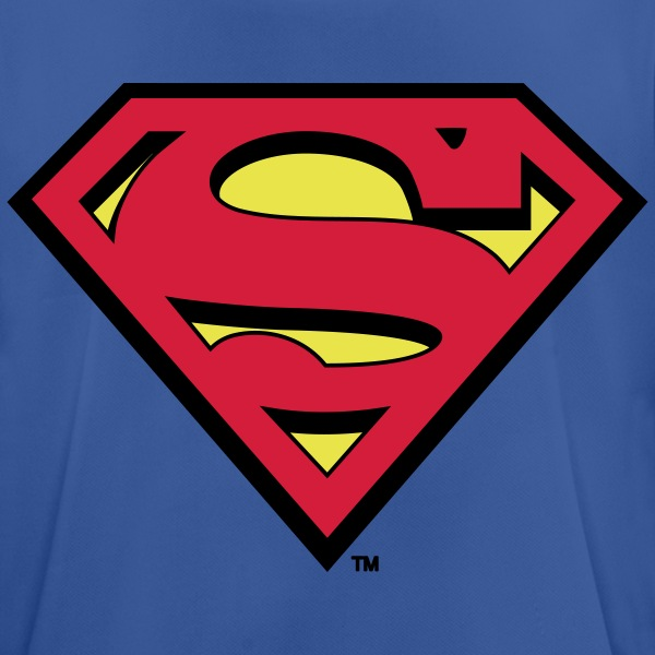 Superman Logo S-Shield - Männer T-Shirt atmungsaktiv