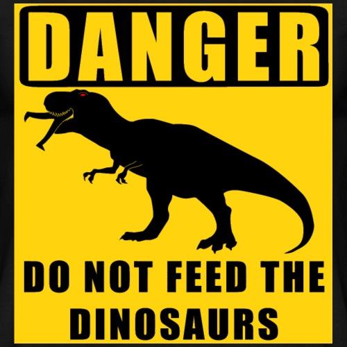 Danger: Do Not Feed Dino!
