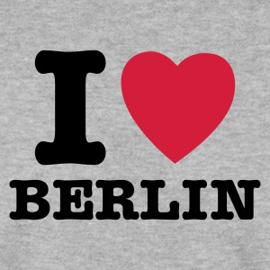 Heather grey I Love Berlin - I Heart Berlin Pullover - Männer Pullover
