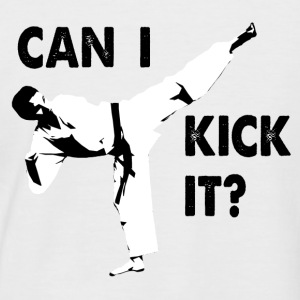 Can I Kick It Baseball T-Shirt - Men's Baseball T-Shirt