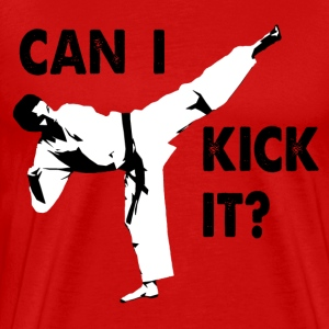 Can I Kick It T-Shirt - Men's Premium T-Shirt