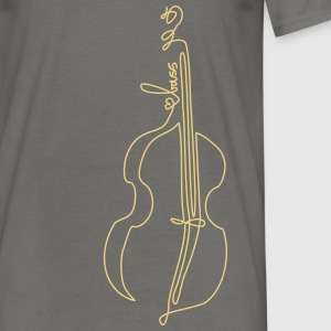 one line bass T-Shirts - Männer T-Shirt