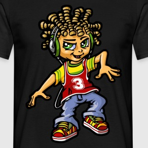 bboy and dreads - T-shirt Homme