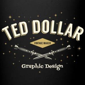 Ted Dollar Vintage maker - Tasse en couleur