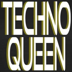 Techno Queen T-Shirts - Frauen T-Shirt