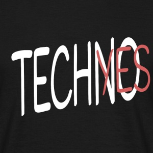 TECHNO_YES T-Shirts - Männer T-Shirt