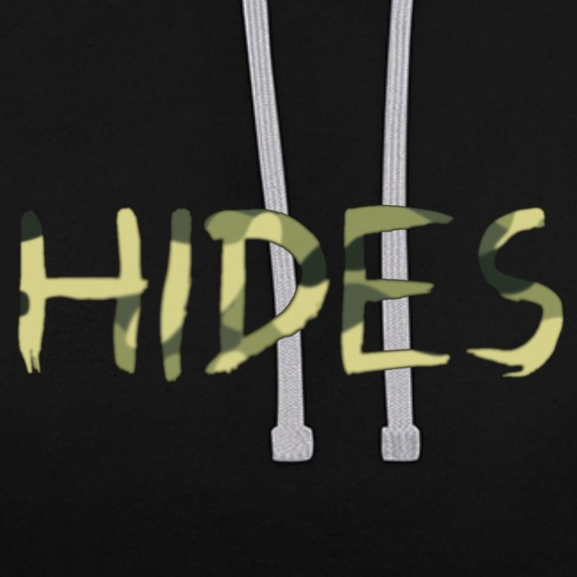 Hides Camo Txt Hoodie