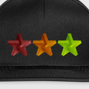 Star Geometry Cap - Snapback Cap