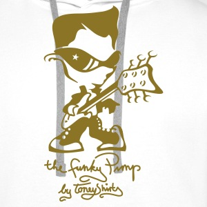 THE FUNKY PIMP Pt. 2 by toneyshirts (UK) - Men's Premium Hoodie