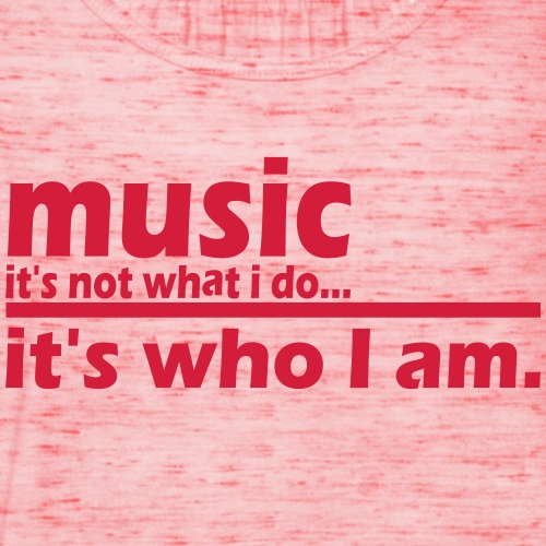 Music is what i am