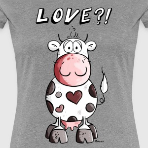 Love Kuh T-Shirts - Frauen Premium T-Shirt