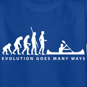 evolution_ruderer_b Shirts - Teenage T-shirt