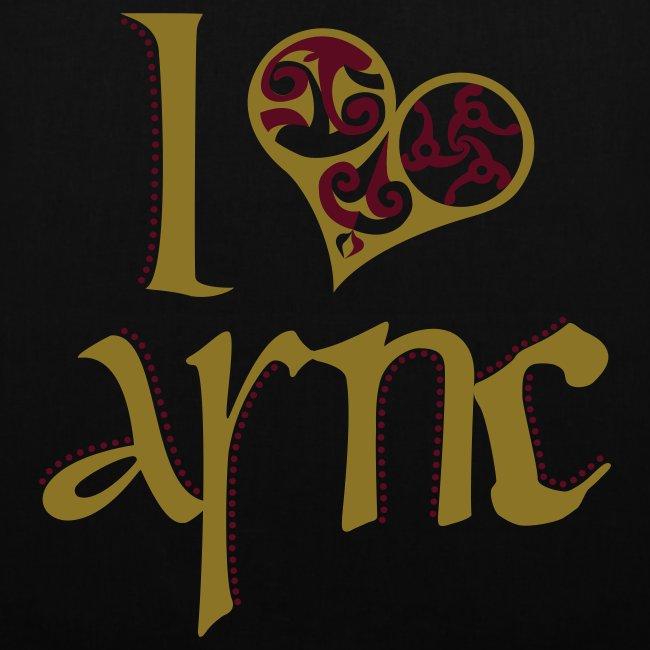 I Love ASNC Tote