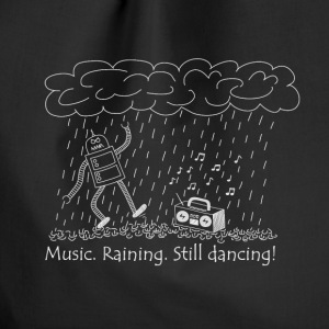 Dancing in the rain - Turnbeutel