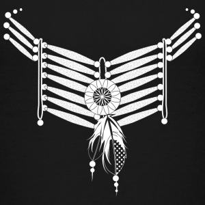 Indian collar with feathers Shirts - Kids' Premium T-Shirt