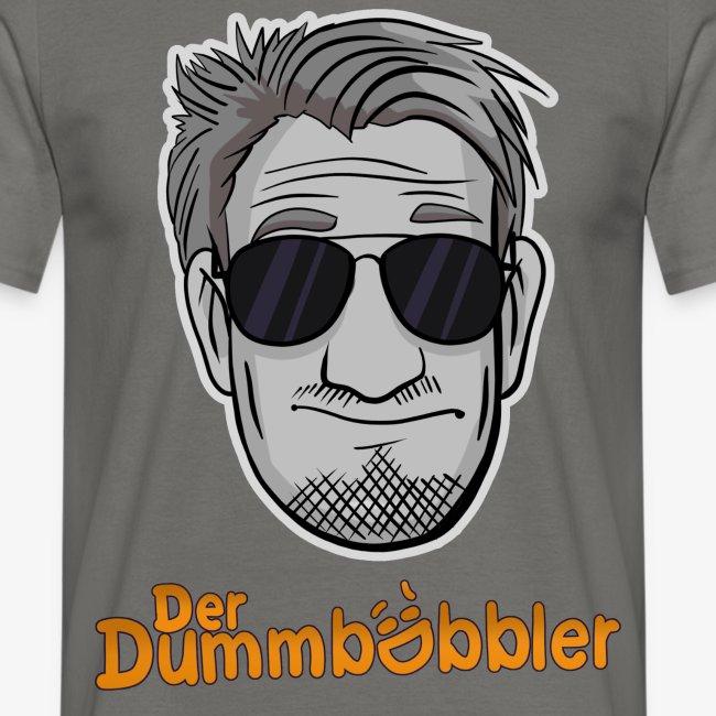 DerDummbabbler Face & Schriftzug T-Shirt