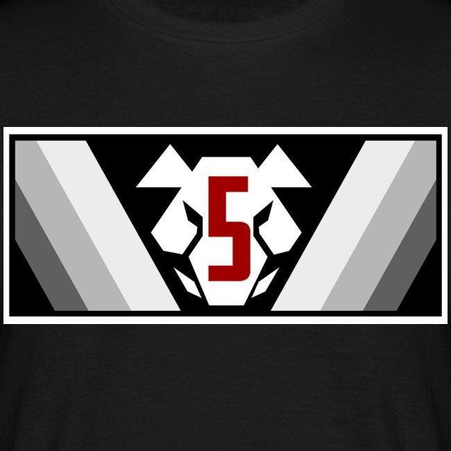 Sotakarjut - Erikoisosasto 5 - Logo (vaaka)