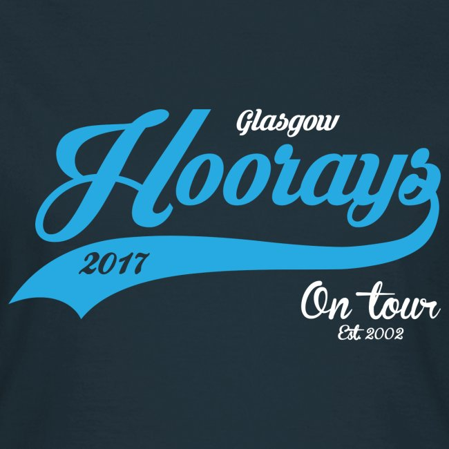 Hoorays on Tour 2017 Female T-shirt