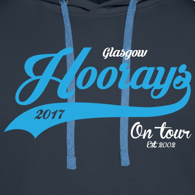 Hoorays on Tour 2017 Male Hoodie