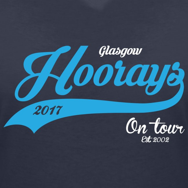 Hoorays on Tour Female V-Neck