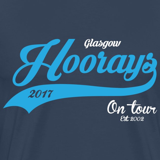 Hoorays on Tour 2017 Male T-shirt #2