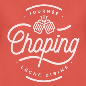 Journée Chopping Tee shirts - T-shirt Premium Femme