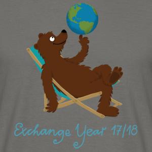 Bär im Liegestuhl- Exchange Year