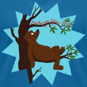 Bär auf Baum im Stern