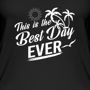 This is the best day ever Tops - Frauen Bio Tank Top