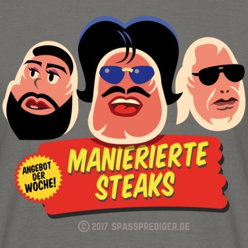 Manierierte Steaks