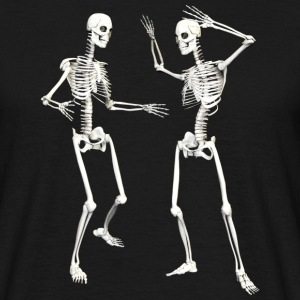 skeleton dance - Men's T-Shirt