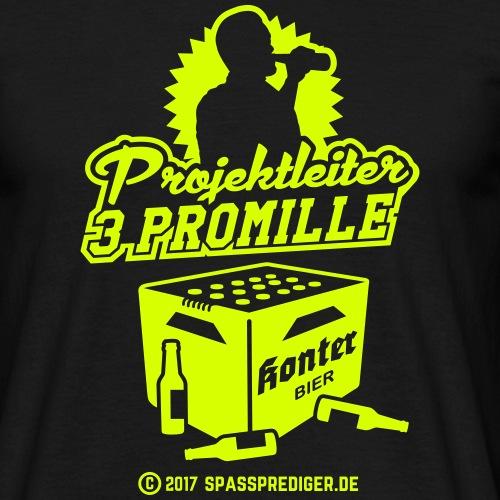 Projektleiter 3 Promille