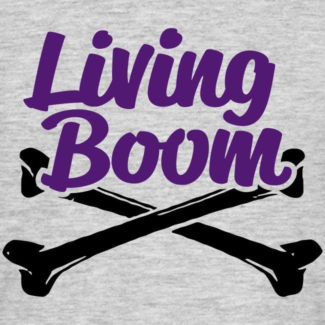 Living Boom Phat low purple