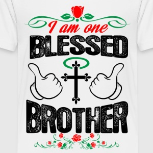 I Am One Blessed Brother Shirts - Teenage Premium T-Shirt