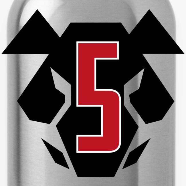 Sotakarjut - Erikoisosasto 5 -juomapullo (Alumiinia)