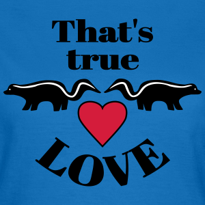 "Shirts mit Tier-Motiv ""True Love Skunks"""
