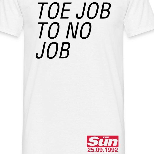 Toe Job To No Job