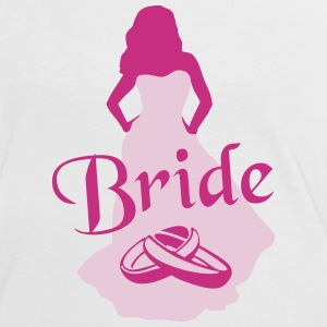 The Bride, Marriage - brude, bryllup T-shirts - Dame kontrast-T-shirt