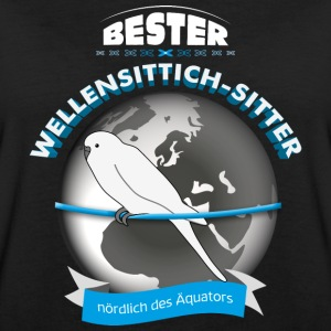 Wellensittich Sitter T-Shirts - Frauen Oversize T-Shirt