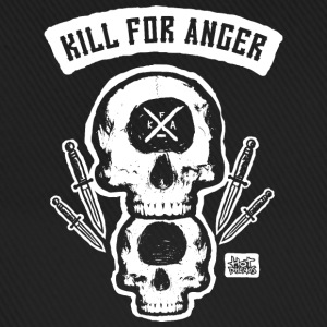 Kill For Anger - Gorra béisbol