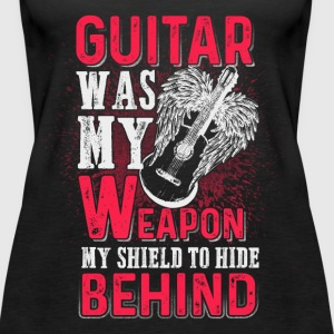 Guitar was my weapon - EN Tops - Frauen Premium Tank Top