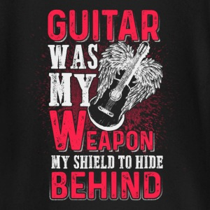 Guitar was my weapon - EN baby shirts met lange mouwen - T-shirt