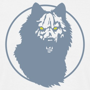 White werwolf_09_2 Men's T-Shirts - Men's T-Shirt