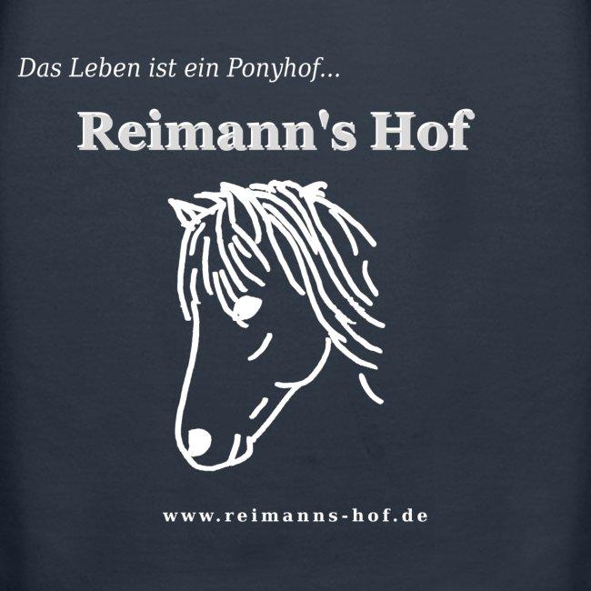 Damen Kapuzenpulli Reimann's Hof -Ponykopf-